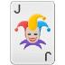 🃏 joker Emoji on Samsung Platform