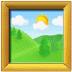 🖼️ framed picture Emoji on Samsung Platform