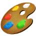 🎨 artist palette Emoji on Samsung Platform