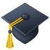 🎓 graduation cap Emoji on Samsung Platform
