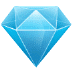 💎 Gem Stone Emoji on Samsung Platform