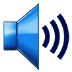 🔊 speaker high volume Emoji on Samsung Platform