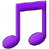 🎵 musical note Emoji on Samsung Platform