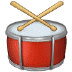 🥁 drum Emoji on Samsung Platform