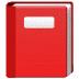 📕 closed book Emoji on Samsung Platform