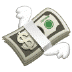 💸 money with wings Emoji on Samsung Platform