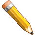 ✏️ Pencil Emoji on Samsung Platform