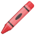 🖍️ crayon Emoji on Samsung Platform
