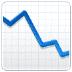 📉 chart decreasing Emoji on Samsung Platform