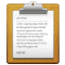 📋 clipboard Emoji on Samsung Platform