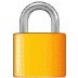 🔒 locked Emoji on Samsung Platform