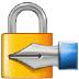 🔏 locked with pen Emoji on Samsung Platform