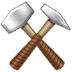 ⚒️ hammer and pick Emoji on Samsung Platform