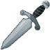 🗡️ dagger Emoji on Samsung Platform