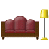🛋️ couch and lamp Emoji on Samsung Platform
