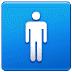 🚹 men's room Emoji on Samsung Platform