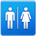 🚻 Restroom Sign Emoji on Samsung Platform