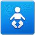 🚼 baby symbol Emoji on Samsung Platform