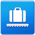 🛄 Baggage Claim Sign Emoji on Samsung Platform