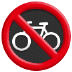 🚳 no bicycles Emoji on Samsung Platform
