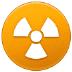 ☢️ radioactive Emoji on Samsung Platform