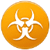 ☣️ biohazard Emoji on Samsung Platform