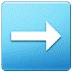 ➡️ Right Arrow Emoji on Samsung Platform
