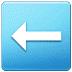 ⬅️ left arrow Emoji on Samsung Platform