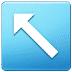 ↖️ up-left arrow Emoji on Samsung Platform