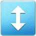 ↕️ up-down arrow Emoji on Samsung Platform