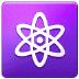 ⚛️ atom symbol Emoji on Samsung Platform