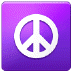 ☮️ peace symbol Emoji on Samsung Platform