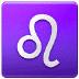 ♌ Leo Emoji on Samsung Platform