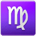 ♍ Virgo Emoji on Samsung Platform