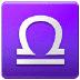 ♎ Libra Emoji on Samsung Platform