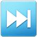 ⏭️ next track button Emoji on Samsung Platform