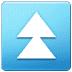⏫ fast up button Emoji on Samsung Platform