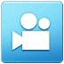 🎦 Cinema Symbol Emoji on Samsung Platform