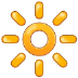 🔆 bright button Emoji on Samsung Platform