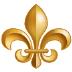 ⚜️ fleur-de-lis Emoji on Samsung Platform