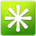 ✳️ eight-spoked asterisk Emoji on Samsung Platform