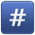 #️⃣ keycap: # Emoji on Samsung Platform