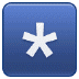 *️⃣ keycap: * Emoji on Samsung Platform
