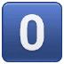 0️⃣ keycap: 0 Emoji on Samsung Platform