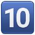 🔟 keycap: 10 Emoji on Samsung Platform