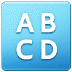 🔠 input latin uppercase Emoji on Samsung Platform