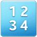 🔢 input numbers Emoji on Samsung Platform