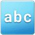🔤 input latin letters Emoji on Samsung Platform