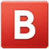 🅱️ B Knop (Bloedgroep) Emoji op Samsung Platform