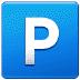 🅿️ P button Emoji on Samsung Platform
